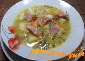 гороховый суп как в столовой рецепт с фото