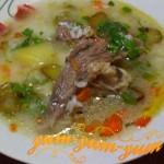 Рецепт рассольника с говядиной и рисом