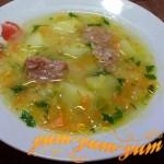 Рецепт супа горохового с тушенкой
