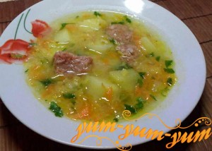 рецепт суп из тушенки с картошкой и вермишелью