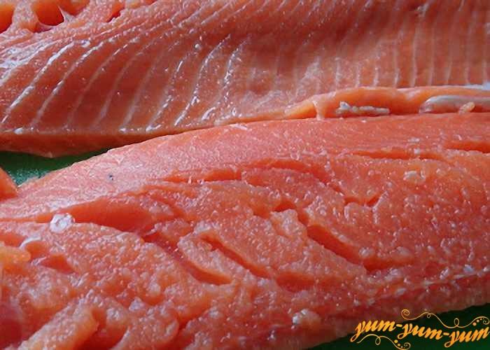 Филе лосося замариновать