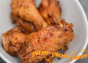 Рецепт куриных крылышек на гриле