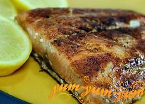 Рецепт лосося на гриле