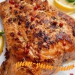 Рецепт лосося на гриле в маринаде