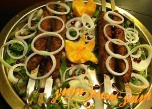Рецепт люля-кебаб на мангале