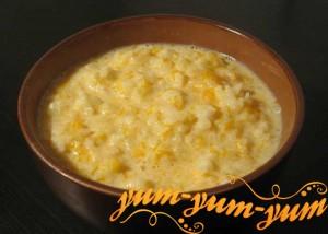 Рецепт молочной пшенной каши с тыквой