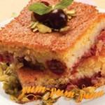 Рецепт пирога с вишней и миндалем Черешник