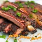 Рецепт ребрышек свиных на мангале