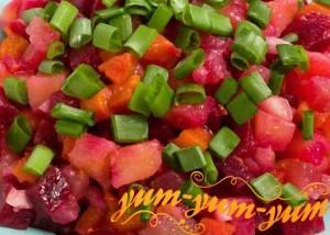 Рецепт салата винегрет