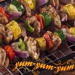Рецепт шашлыка из курицы в майонезе с овощами