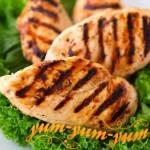 Рецепт шашлыка из куриного филе