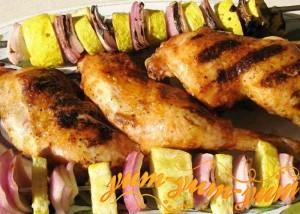 Рецепт шашлыка из куриных окорочков