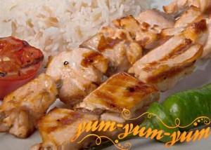 Рецепт шашлыка из лосося и красной рыбы