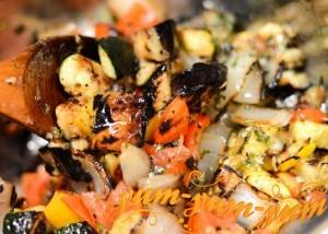 Рецепт шашлыка из овощей