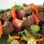 Рецепт шашлыка из телятины в красном вине
