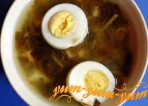 Рецепт щавелевого супа
