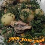 Рецепт скумбрии тушеной с картошкой