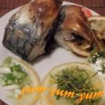 Рецепт скумбрии в духовке в сметане