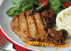 Рецепт стейка на гриле