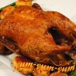 Рецепт утки на вертеле