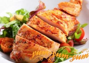 Рецепты куриной грудки на гриле