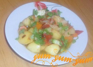 Рецепт овощного рагу с кабачками