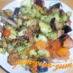 Рецепт рагу из баклажанов и кабачков