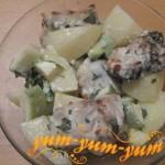 Рецепт скумбрии в фольге с овощами