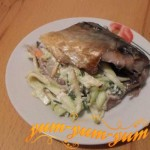 Рецепт скумбрии в фольге