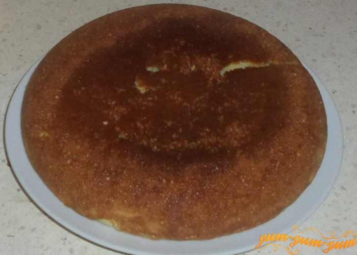 Бисквит выпекаем в течение 40 минут