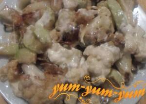 Рецепт цветной капусты, запеченной в мультиварке