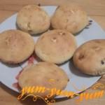 Рецепт кекса с персиками