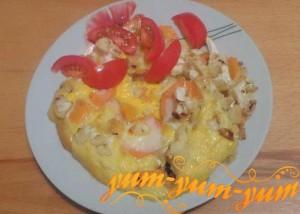 Рецепт приготовления цветной капусты с яйцом