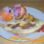 Рецепт приготовления пирога с персиками и пирожных