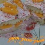 Рецепт приготовления торта с абрикосами