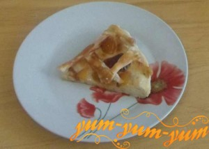 Рецепт сладкого пирога с персиками