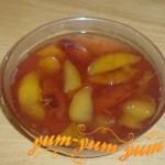 Рецепт варенья из персиков