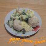 Рецепт запеченных брокколи и цветной капусты в мультиварке