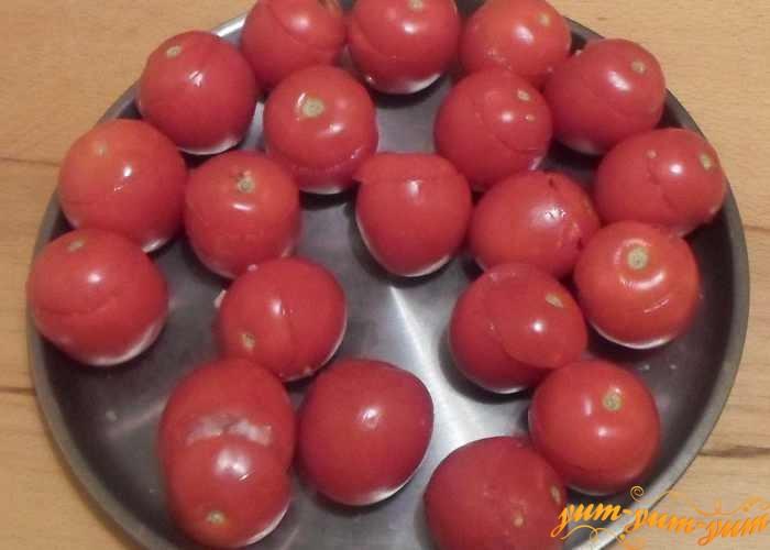 Фаршированные помидоры мясом и рисом поставить в духовку