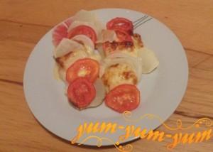 Как приготовить картофель по французски с помидорами