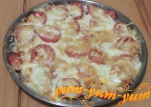 Как приготовить мясо с помидорами