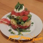 Как приготовить вкусный салат из помидоров
