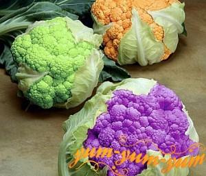 Как варить цветную капусту