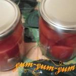 Сладкие помидоры на зиму закатать и поставить на хранение