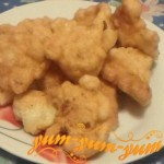 Рецепт цветной капусты в яйце