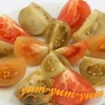 Рецепт квашеных зеленых помидоров