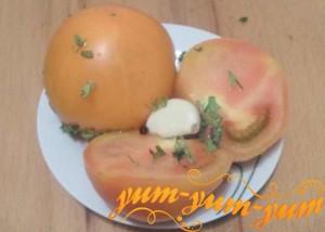 Рецепт малосольных зеленых или желтых помидоров