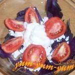 Рецепт помидоров с базиликом