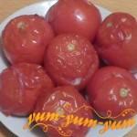 Рецепт приготовления помидоров с фаршем и рисом