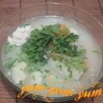 Рецепт супа из цветной капусты с курицей